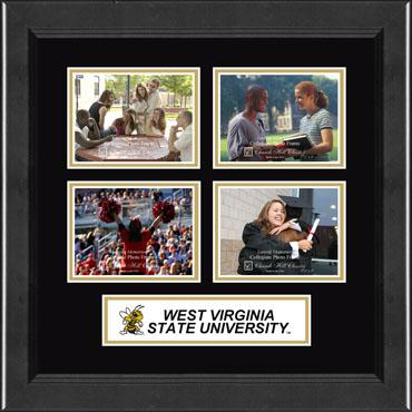 Lasting Memories Quad Banner College Photo Frame in Arena