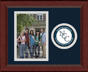 Lasting Memories Circle Logo Photo Frame in Sierra