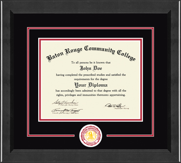 Baton Rouge Community College - Diploma Frames - Church Hill Classics