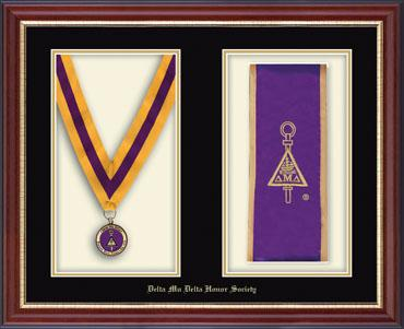 Commemorative Medal and Stole Frame in Newport