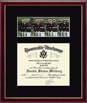 United States Marine Corps Us Marines Photo And Honorable Discharge