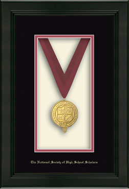 Commemorative Medal Frame in Omega
