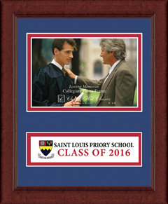 Lasting Memories Class of 2016 Banner Photo Frame in Sierra