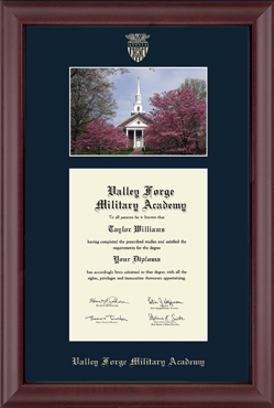 Campus Scene Edition Diploma Frame in Cambridge