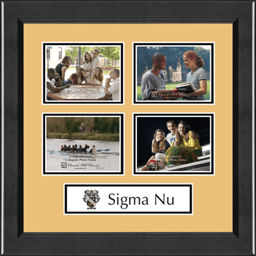 Lasting Memories Quad Banner Photo Frame in Arena