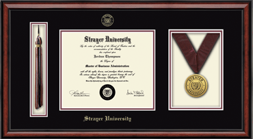 strayer university diploma frame