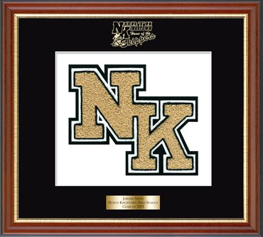 North Kingstown High School in Rhode Island Varsity Letter Frame in ...