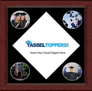 Tassel Toppers Photo Frame in Sierra