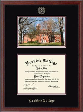 Campus Scene Edition Diploma Frame in Signet