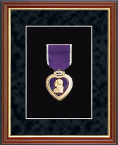 Purple Heart Medal Frame in Newport