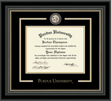 Purdue University - Diploma Frames - Church Hill Classics