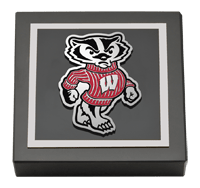 Spirit Badger Logo Medallion Paperweight