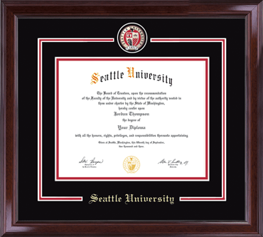 Seattle University - Diploma Frames - Church Hill Classics