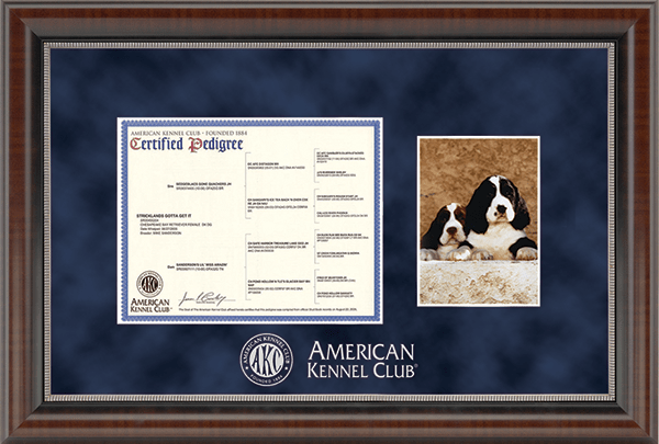American Kennel Club Pedigree & AKC Registration Frames, Canine