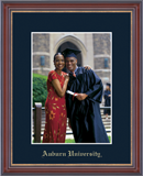 Auburn University Photo Frame - Embossed Photo Frame in Kensit Gold