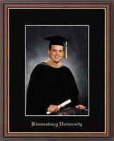 Bloomsburg University Photo Frame - Embossed Photo Frame in Williamsburg