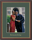 Dartmouth College Photo Frame - Embossed Photo Frame in Williamsburg