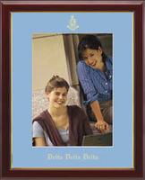 Delta Delta Delta Photo Frame - Embossed Photo Frame - Name & Seal - Vertical in Galleria