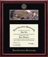 East Carolina University Diploma Frame - Stadium Campus Scene Diploma Frame in Galleria