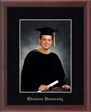 Edinboro University Photo Frame - Embossed Photo Frame in Signet
