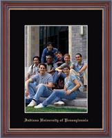 Indiana University of Pennsylvania Photo Frame - Embossed Photo Frame in Kensit Gold