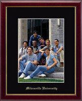 Millersville University of Pennsylvania Photo Frame - Gold Embossed Photo Frame in Galleria