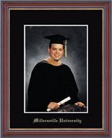 Millersville University of Pennsylvania Photo Frame - Gold Embossed Photo Frame in Kensit Gold