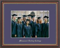 Missouri Valley College Photo Frame - Gold Embossed Photo Frame in Williamsburg