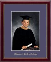 Missouri Valley College Photo Frame - Gold Embossed Photo Frame in Galleria