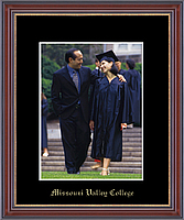 Missouri Valley College Photo Frame - Gold Embossed Photo Frame in Kensit Gold