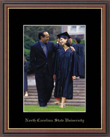 North Carolina State University Photo Frame - Gold Embossed Photo Frame in Williamsburg