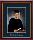 Norfolk Academy Photo Frame - Gold Embossed Photo Frame in Galleria