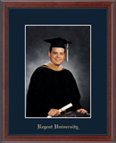 Regent University Photo Frame - Gold Embossed Photo Frame in Signet