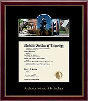 Rochester Institute of Technology Diploma Frame - Campus Scene Diploma Frame in Galleria