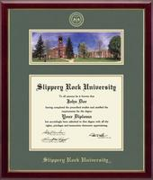Slippery Rock University Diploma Frame - Campus Scene Diploma Frame in Galleria