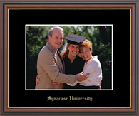 Syracuse University Photo Frame - Gold Embossed Photo Frame in Williamsburg