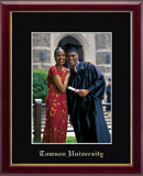 Towson University Photo Frame - Embossed Photo Frame in Galleria