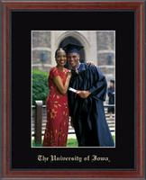 The University of Iowa Photo Frame - Embossed Photo Frame in Signet