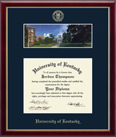 University of Kentucky Diploma Frame - Campus Scene Edition Diploma Frame in Galleria