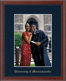 University of Massachusetts Lowell Photo Frame - Embossed Photo Frame in Signet