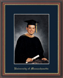 University of Massachusetts Lowell Photo Frame - Embossed Photo Frame in Williamsburg