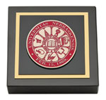 University of Nebraska Paperweight - Masterpiece Medallion Paperweight