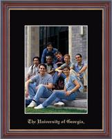 The University of Georgia Photo Frame - Embossed Photo Frame in Kensit Gold