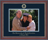 University of North Carolina Chapel Hill Photo Frame - Embossed Photo Frame in Kensit Gold