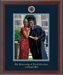 University of North Carolina Chapel Hill Photo Frame - Embossed Photo Frame in Signet