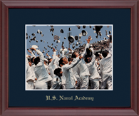 United States Naval Academy Photo Frame - Gold Embossed Photo Frame in Camby