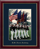 United States Naval Academy Photo Frame - Gold Embossed Photo Frame in Galleria