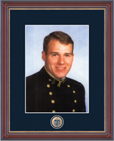 United States Naval Academy Photo Frame - Masterpiece Photo Frame in Kensit Gold