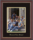 Vermont Law School Photo Frame - Embossed Photo Frame in Kensit Gold