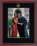 Western Connecticut State University Photo Frame - Embossed Photo Frame in Signet